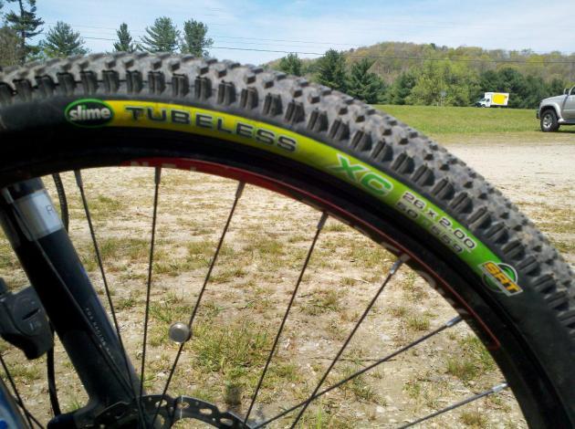 Slime SRT XC 26x2.00 tire