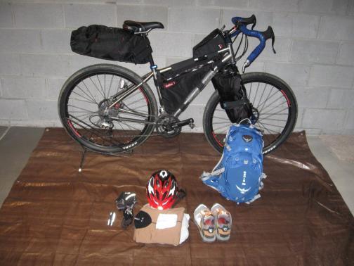 Bike Packing Gear List Version 1 0 Car Less Ohio