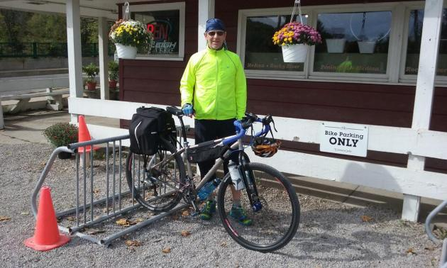Posing for Century Cycles' Bicycle Touring Photo Gallery in Peninsula, Ohio